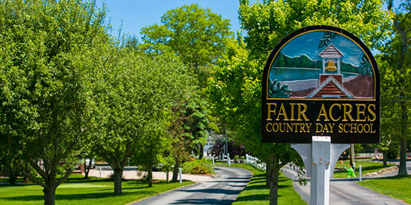Fair Acres Sign